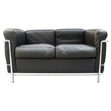 detail sofa sessel le corbusier lc2 designboerse. Black Bedroom Furniture Sets. Home Design Ideas
